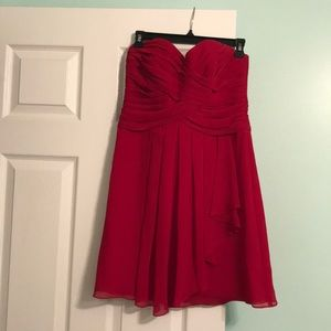 Red David's bridal dress!